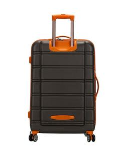Rockland Melbourne 3 Pc Luggage Set, Charcoal