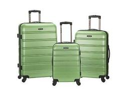 rockland melbourne hardside spinner luggage