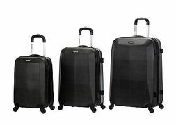 Rockland Vision Hardside Spinner Upright 3-Piece Luggage Set