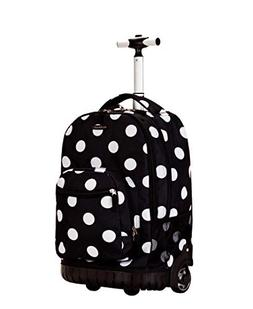 "Rockland 19"" Rolling Backpack"