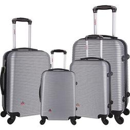 inUSA Luggage Royal 4 Piece Hardside Spinner Luggage Luggage