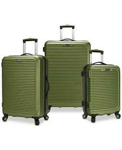 savannah 3 pc hardside spinner luggage set