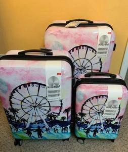it luggage set 3 Piece Hard shell Metalik Spinners
