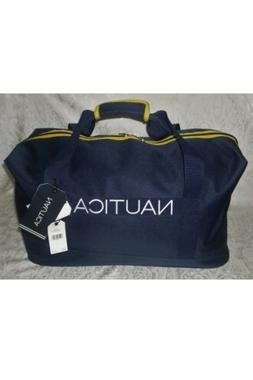 "Nautica Set Sail Hayes 22"" Travel Duffle Gym Bag Luggage NWT"
