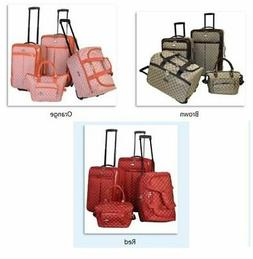 signature 4 piece luggage set extra capacity