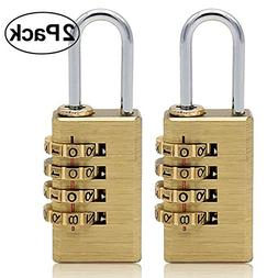 solid brass combination lock 4