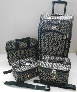 "SPINNER Suitcase SET 22"" CARRY ON LUGGAGE NX XN PATTERN ROLL"