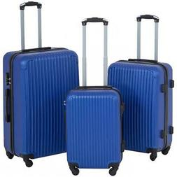 Suitcase 3 Piece Luggage Sets Travel Carry on Expandable Lig