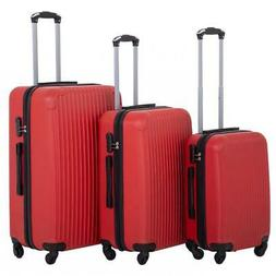 Suitcase Luggage Sets 3 Piece Travel Carry Expandable with P