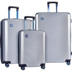 Travelers Club Luggage Beijing 3pc Expandable Hardside Lugga