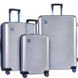 T.P.R.C. Beijing 3pc Expandable Hardside Spinner Luggage Set