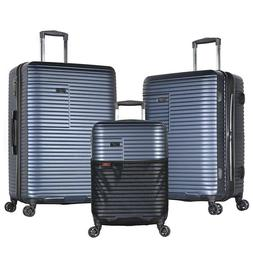 Olympia Taurus 3 Piece Luggage Set 21/25/29 Inch, Navy