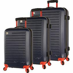 tide beach hardside spinner 3 piece luggage