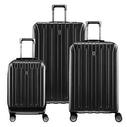 """DELSEY Paris Titanium Carry On, 25"""", & 29"""" Spinner Rolling S"""