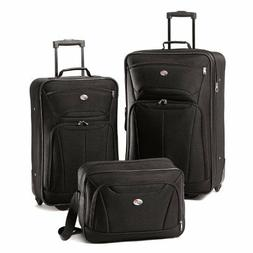 Travel Roller Luggage  3 Piece Suitcase Set 19 Inch Carry on