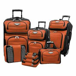 Travel Select Amsterdam Expandable Rolling Upright Luggage,
