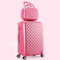 Travel suitcase <font><b>set</b></font> Rolling <font><b>spi