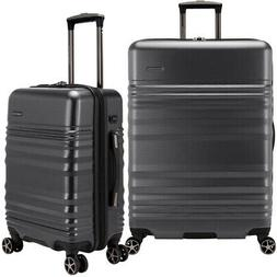 Traveler's Choice Pomona 2-piece Hardside Set Luggage with E