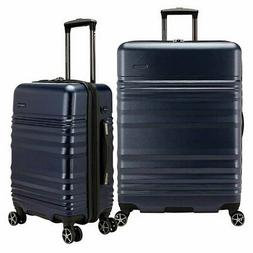 Traveler's Choice Pomona 2-piece Hardside Luggage Set, Dark