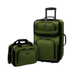 Traveler's Choice Unisex  Rio Expandable 2 Piece Set