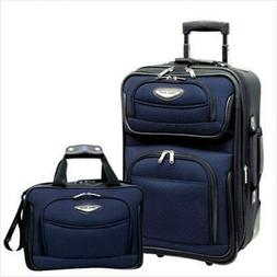 Travelers Choice TS6902N Amsterdam 2 Piece Carry-On Luggage