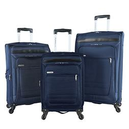 Travelers Club Luggage 3 Piece Top Durable Expandable Spinne
