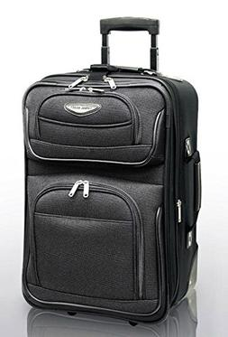 Travelers Choice Travel Select Amsterdam 21 in. Carry-on Lig