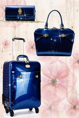 Tri-Star Matching Signature Luggage Sets with Spinner Wheels