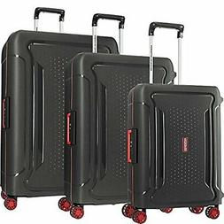 American Tourister Tribus Hardside Luggage, Black, 3-Piece S