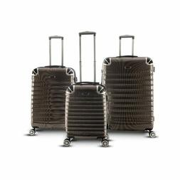 Trolley Case 3-Piece Hardside Lightweight Spinner Luggage Ba