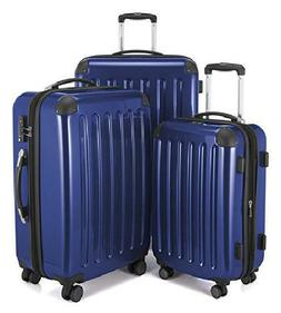 TSA 3 Luggages Hard Shell Suitcase Set Trolley with Spinner