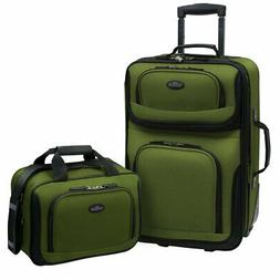 U.S. Traveler by Traveler's Choice RIO 2-piece Expandable Ca