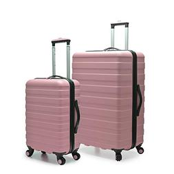 U.S. Traveler Cypress Colorful 2-Piece Small and Large Hards