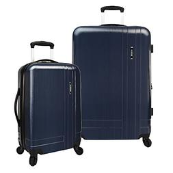 U.S. Traveler Navy 2-Piece Lightweight Expandable Spinner Se