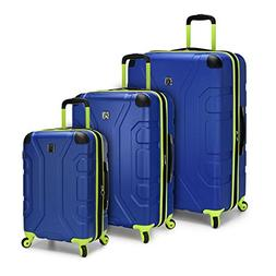 U.S. Traveler Sky High 3-Piece Hardside Spinner Set, Navy