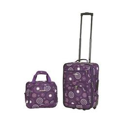 Rockland Unisex  2 Piece Luggage Set F102