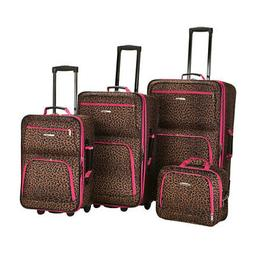Rockland Unisex  4 Piece Luggage Set F125