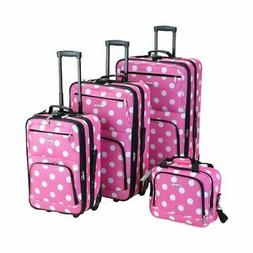 Rockland Unisex  4 Piece Luggage Set F46