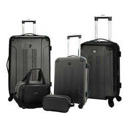 unisex 5 piece luggage value set