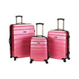 Rockland Unisex  Melbourne 3 Piece Luggage Set