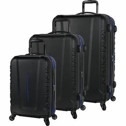 Nautica Vernon Bay Black Cobalt 3 Piece Expandable Spinner L