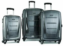 Samsonite Winfield 2 3PC Hardside  Luggage Set, Charcoal