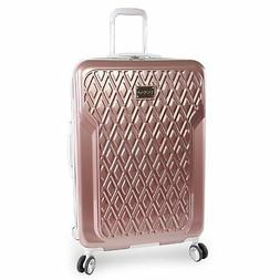 "BEBE Women's Luggage Stella 29"" Hardside Check in Spinner, R"
