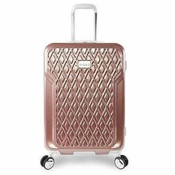 "BEBE Women's Stella 21"" Hardside Carry-on Spinner Luggage, R"