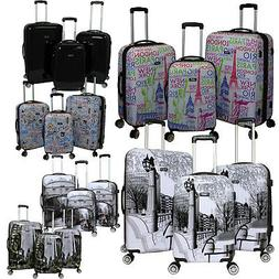 Kemyer World Series Hardside 3-PC Expandable Spinner Luggage