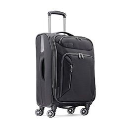 American Tourister Zoom 21 Spinner Carry-On Luggage, Black