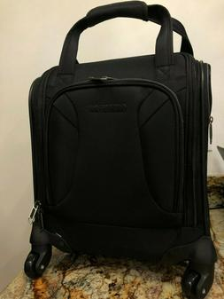 American Tourister Zoom Spinner Tote Carry-On Luggage, Black